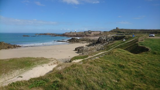 Alderney, UK: Fabulous path past many key points