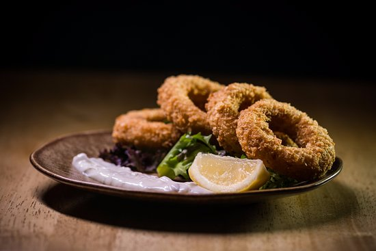 Bexhill-on-Sea, UK: Calamari