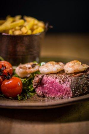 Bexhill-on-Sea, UK: Rare steak