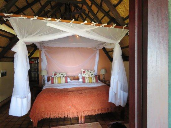 Imbabala Zambezi Safari Lodge: A snuggly bed after an adventurous day.