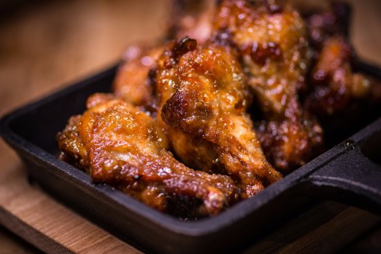 Bexhill-on-Sea, UK: Chicken Wings