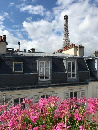 Hotel de Londres Eiffel: Best view ever!