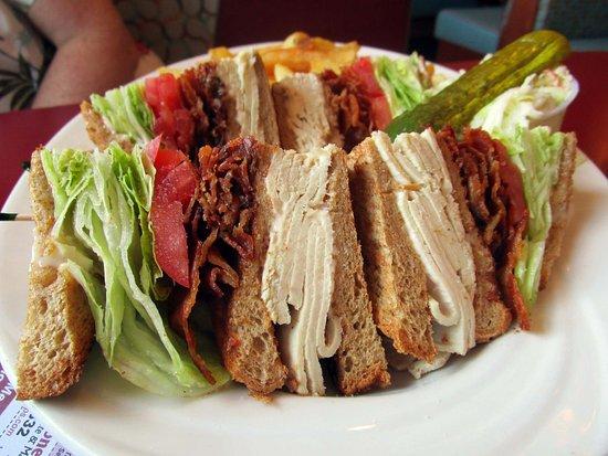 มอร์ริสทาวน์, นิวเจอร์ซีย์: Morristown Diner Turkey Club