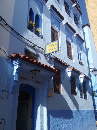 Hostal Guernika: Entree de l'hotel