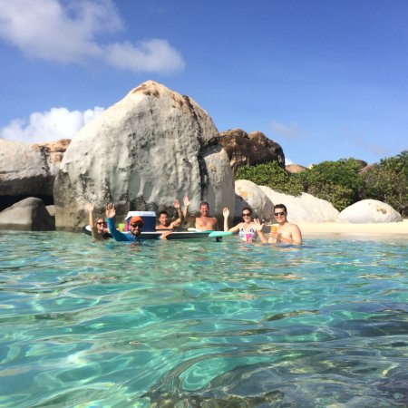 Aristocat Charters: Crew at Virgin Gorda (BVI)