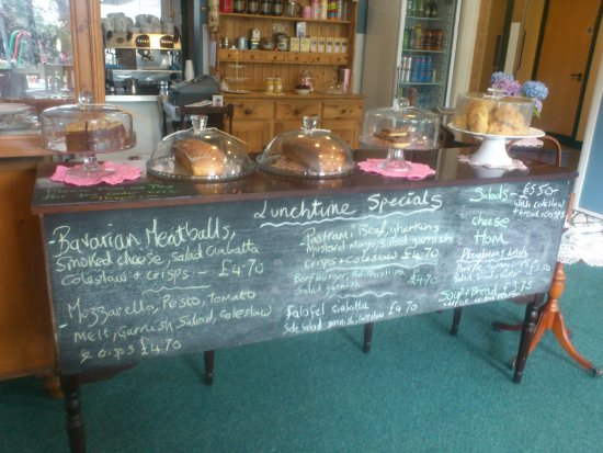 Dronfield, UK: What's on the cake table today