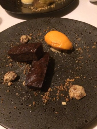 Great Yeldham, UK: From the a la carte menu