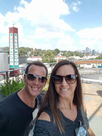 Boulevard Brewing Company: The selfie photo op site on the tour