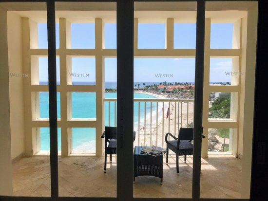 The Westin Resort & Spa, Cancun: Royal Beach Club room balcony