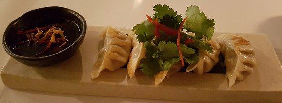 Richmond, Avustralya: Pork & ginger dumplings