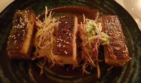 Richmond, Avustralya: Crisp roasted pork belly