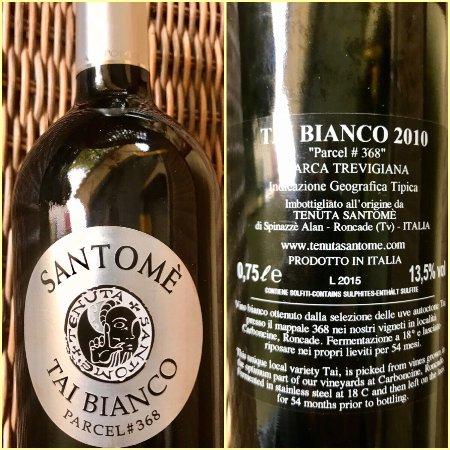 Roncade, Italia: Vino di qualità, che con quella sua mineralità e sapidità di vino maturo assomiglia ad un Bourgo