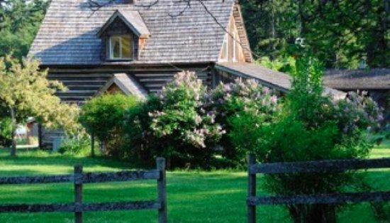Salt Spring Island, Kanada: Heritage Log Home