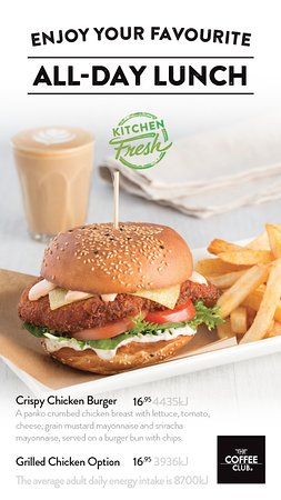 Coolum Beach, Australia: Crispy Chicken Burger $16.95