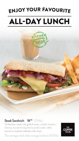 Coolum Beach, ออสเตรเลีย: Steak Sandwich and Chips $18.95