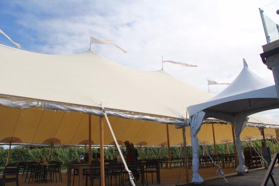 Lightfoot u0026 Wolfville Vineyards Huge tent & Huge tent - Picture of Lightfoot u0026 Wolfville Vineyards Wolfville ...
