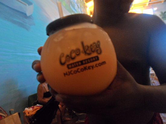 """Coco Key Water Resort: My adult guests enjoyed the """"fish bowl"""" style cocktails"""