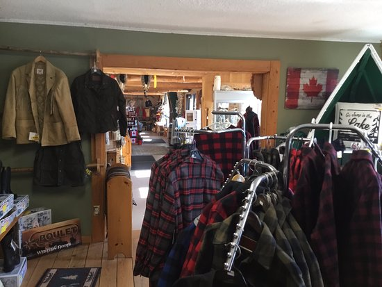 Dwight Trading Post: interior of shop