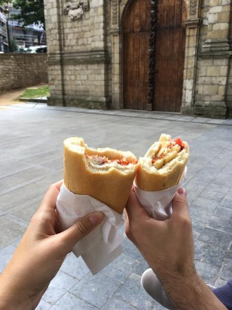 Cheers to the best sandwichs that we've ever had!