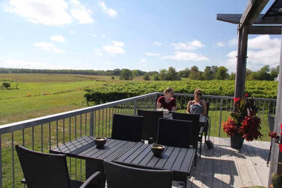 Canning, Canada: The patio