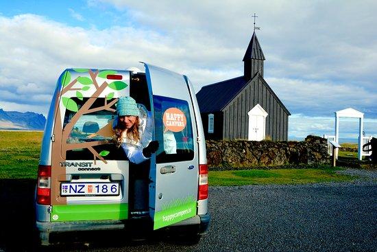 Budir, ไอซ์แลนด์: camper van..only way to experience Iceland