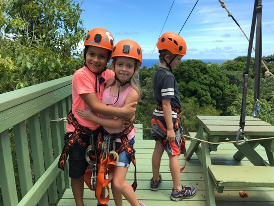 Haiku, HI: jungle zipline 2017.09.02