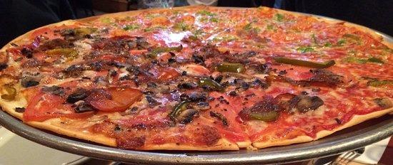 Neptune City, นิวเจอร์ซีย์: Caramalized onion and bell pepper
