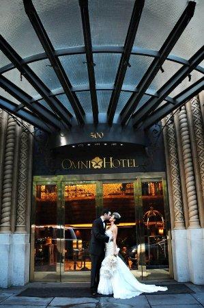 Omni San Francisco Hotel : Bride & Groom
