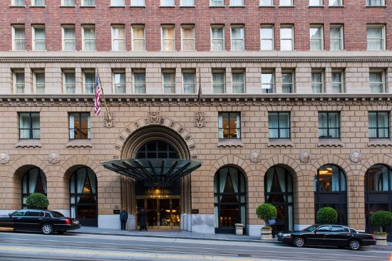 Omni San Francisco Hotel : Hotel Exterior