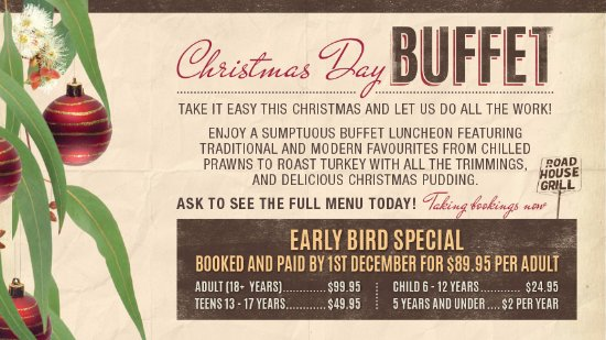 Maroochydore, Australia: Christmas Day Buffet. Contact the Sands Tavern on 54437944 for more details