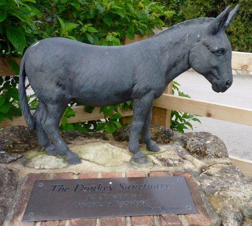 The Donkey Sanctuary: Donkey Sanctuary sculpture
