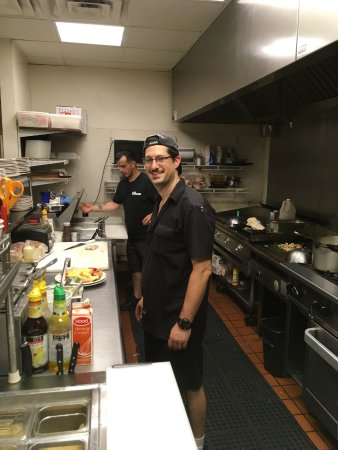 Seekonk, Μασαχουσέτη: Personally trained by his father, Peter, George now leads the cooking staff!