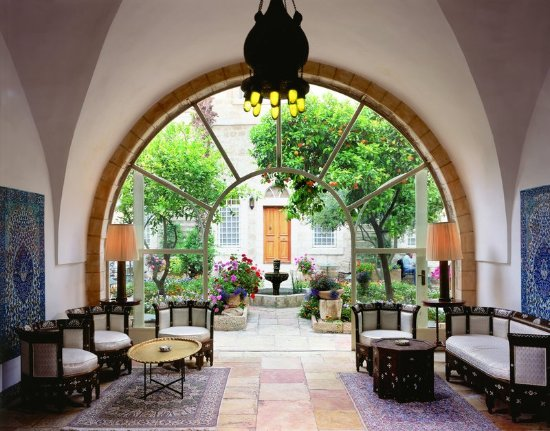 The American Colony Hotel: Entrance - Patio