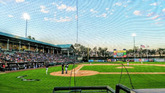 Lake Elsinore Storm, The Diamond: View from our $15 seats