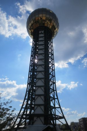 Sunsphere Tower: Outside