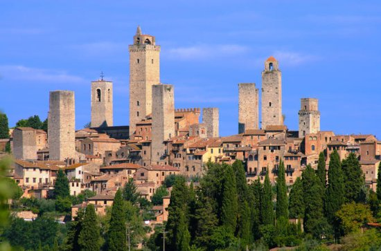 4-Day Tour: Medieval Tuscany from Rome