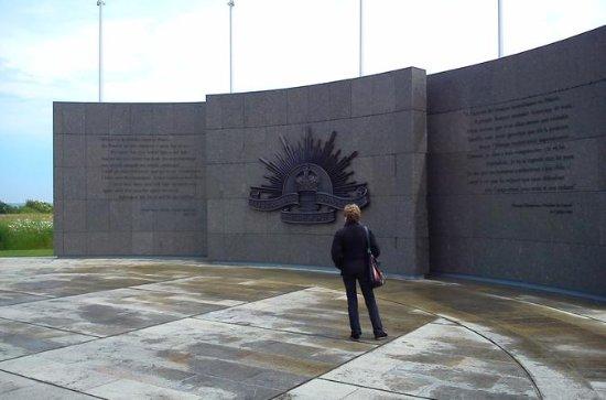 Australian WW1 battlefield tour in...