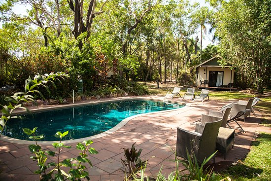 Mary River Wilderness Retreat & Caravan Park: Private Pool