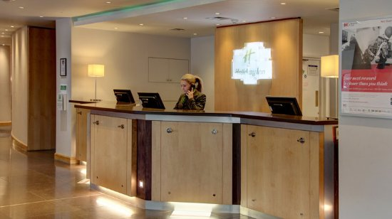 High Wycombe, UK: Front Desk