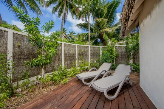 Titikaveka, Cooköarna: Garden Studio Deck & Loungers