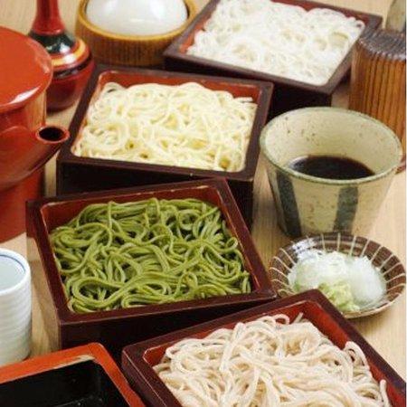 GOZENSOBA YONSHOKU *YON-SHOKU means combination of four different Soba