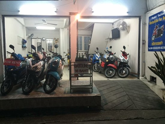 Phuket Thailand Motorbike For Rent