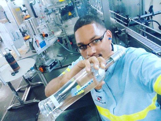 Brugal Rum Center: A Proud worker, Brugal Titanium