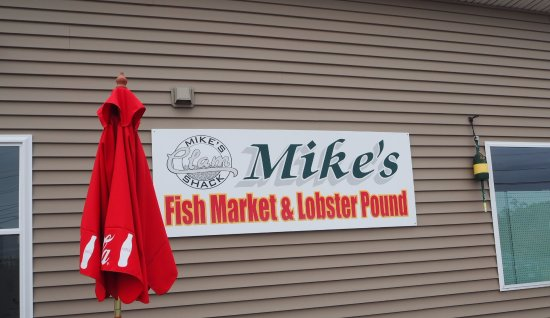 Mike's Clam Shack: Mike's Fish Market & Lobster Pound