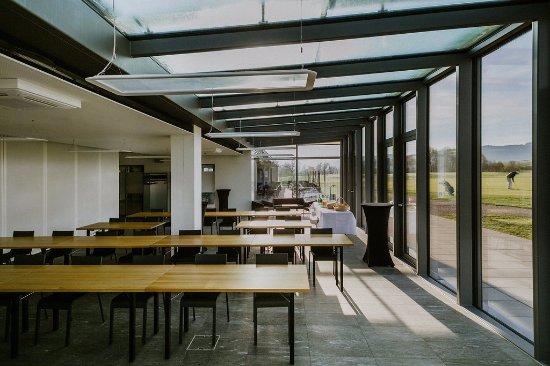 Restaurant Golfpark Moossee: Multifunktionsraum mit Seminarbestuhlung