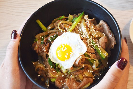 Annyeong: Bulgogi Pork with Rice