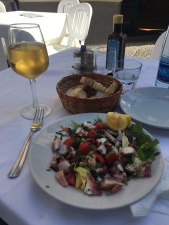 Trattoria Castel Dell  Ovo: Polipo all'insalata (octopus Salad)