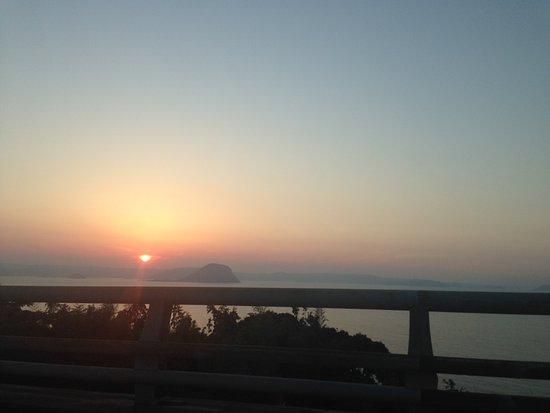 Shima Sunset Road : 車からでも綺麗です