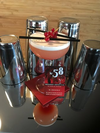 Le Plessis-Robinson, France: Cocktail du 58