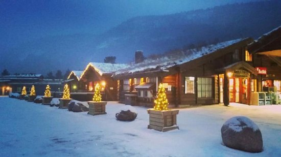 Storjord, Noruega: Fasade - Vinterstemning